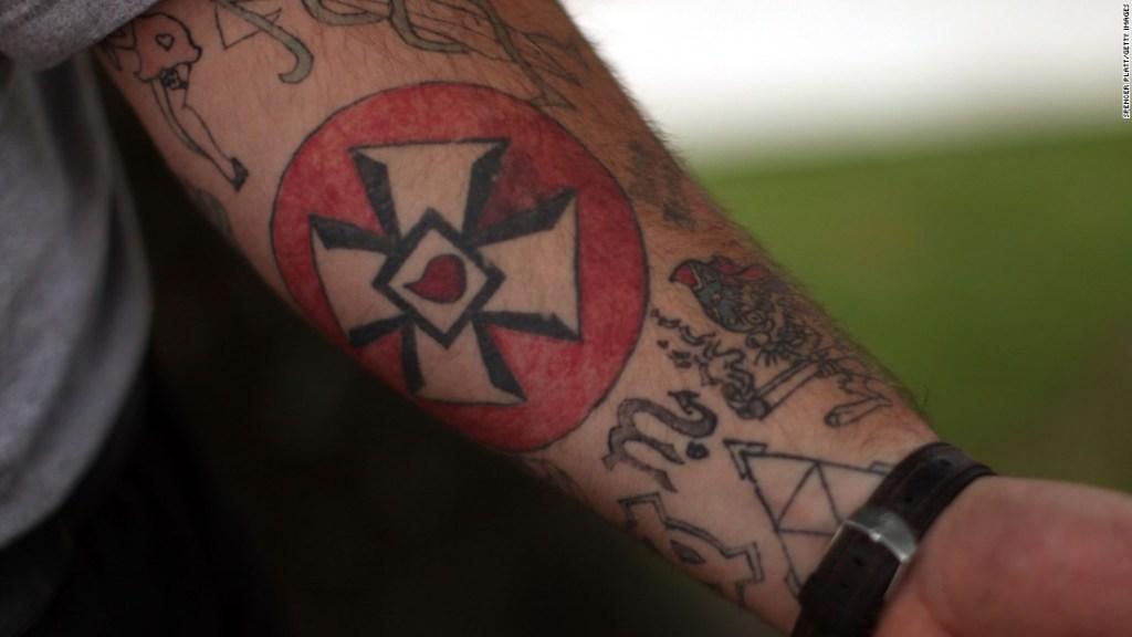 Tatuaje de grupo extremista