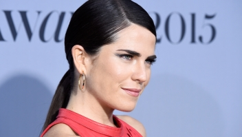 LOS ANGELES, CA - OCTOBER 26: Actress Karla Souza attends the InStyle Awards at Getty Center on October 26, 2015 in Los Angeles, California. (Photo by Frazer Harrison/Getty Images)