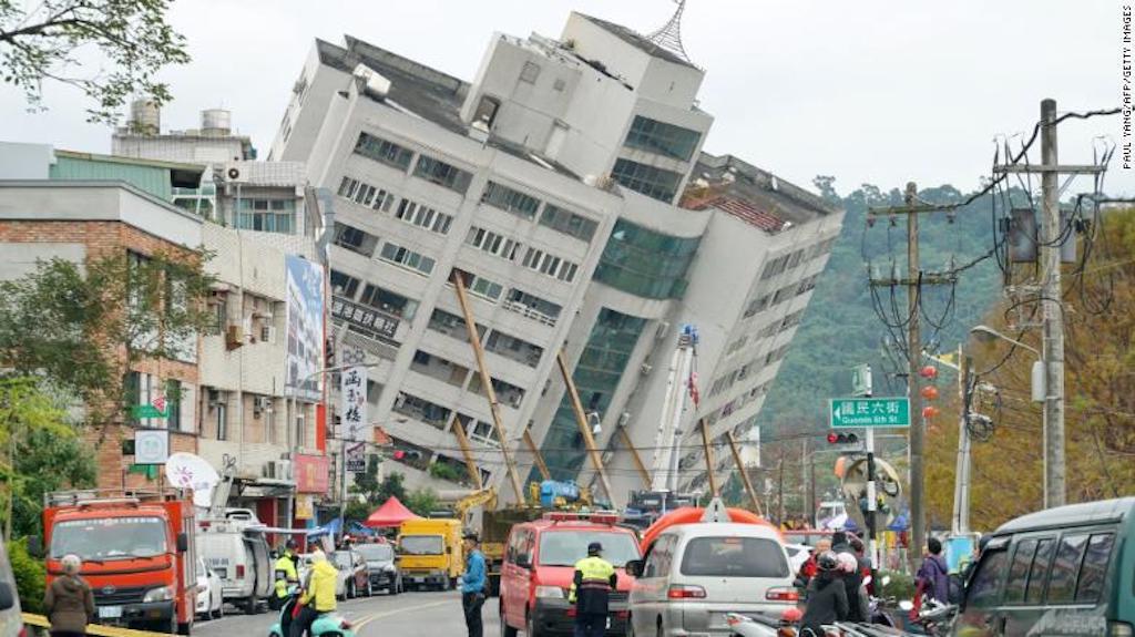 Terremoto Taiwan, Sismo Taiwan
