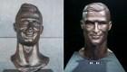 El famoso busto viral de Ronaldo: de las burlas a la redención
