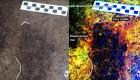 Hallan huellas humanas de 13.000 años de antigüedad