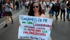 Marcha por la aparición con vida de estudiantes de Jalisco
