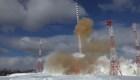 Rusia lanza su 'diabólico' misil balístico