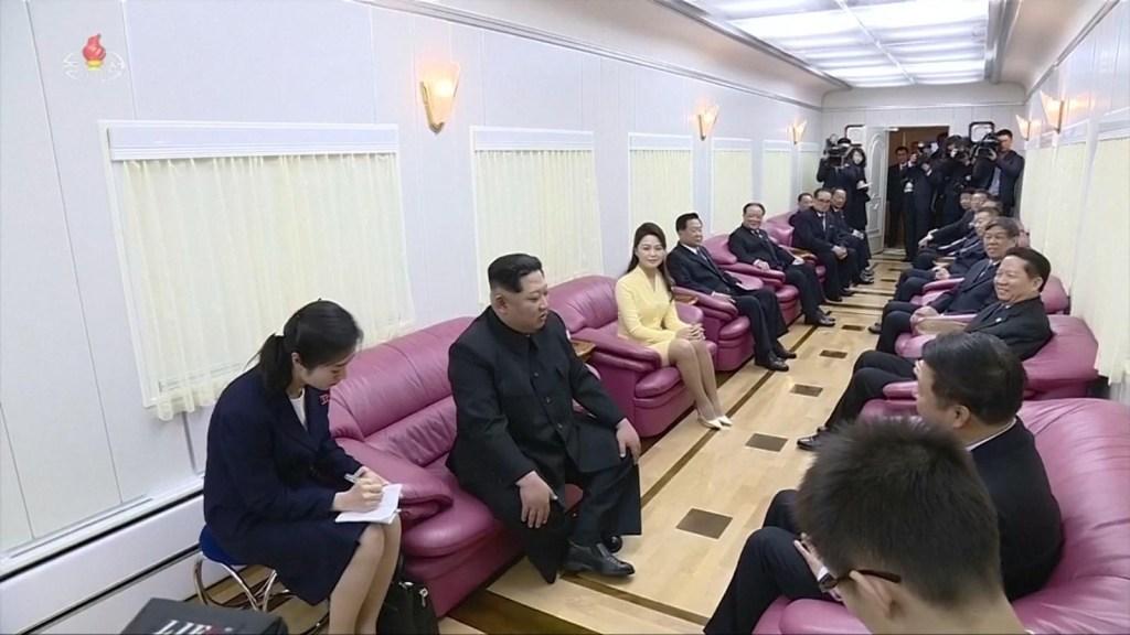 Así es el tren de Kim Jong Un