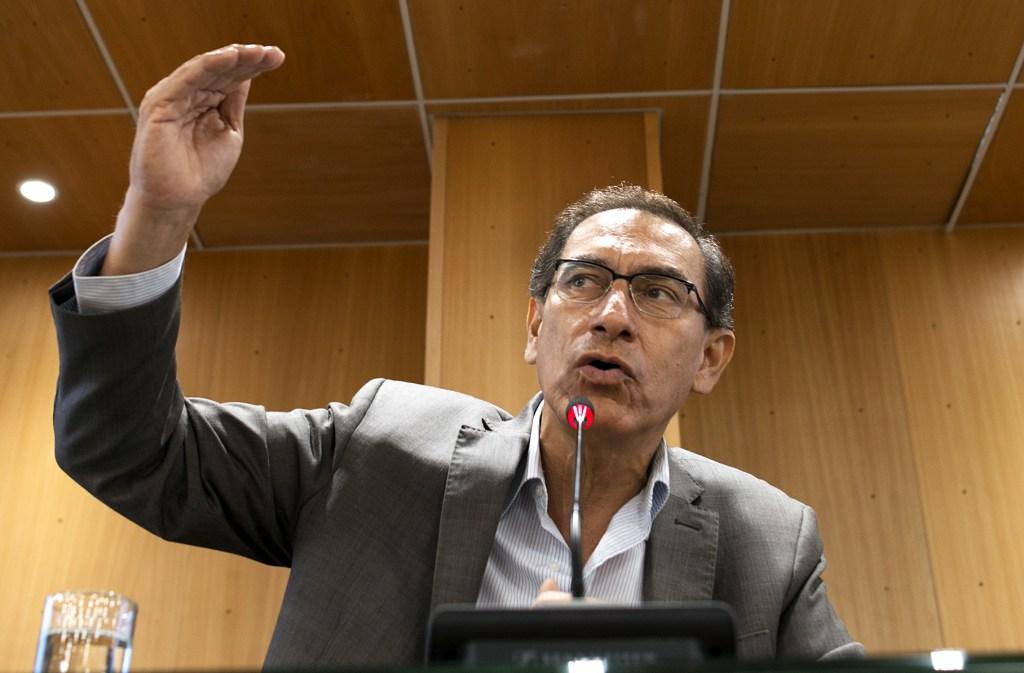 Martin Vizcarra, Presidente Peru
