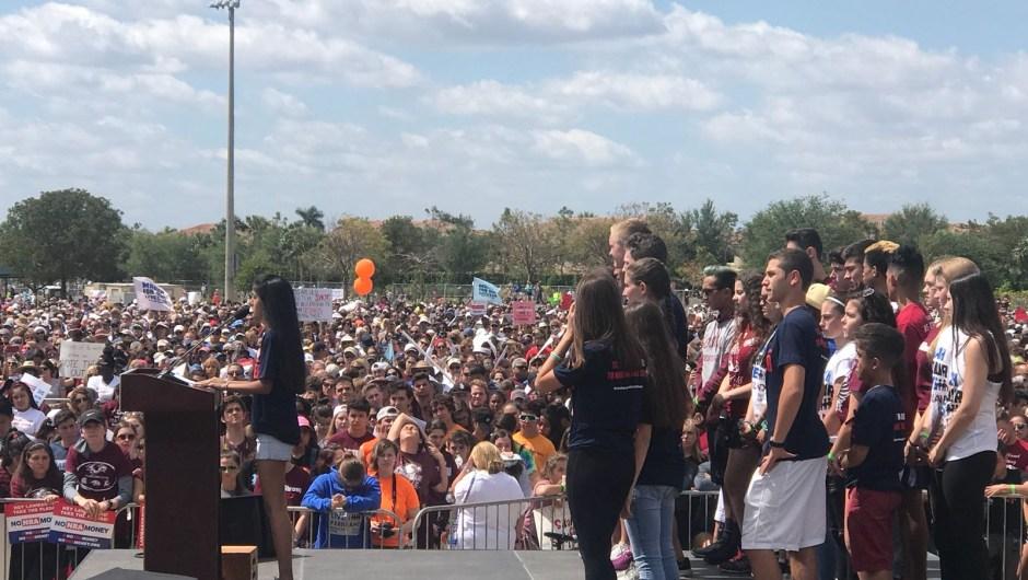 Parkland, Florida, lugar en el que tuvo lugar la última masacre en la que murieron 17 personas. Sus estudiantes son los que han liderado la Marcha por Nuestras Vidas en todo el País. (Crédito: Juan Manuel Rodríguez/CNN Español)