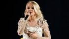 Carrie Underwood se recupera de su lesión en el rostro