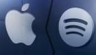 La batalla entre Spotify y Apple