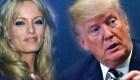 Trump desconoce pago a Story Daniels en declaración a la prensa