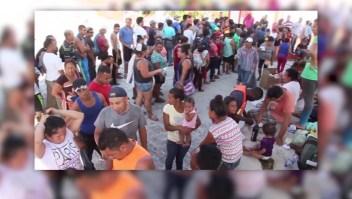 Cerca de 100 familias centroamericanas buscan asilo en Estados Unidos