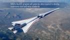 La NASA desarrolla un avión supersónico silencioso y comercial
