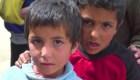 La vida de los desplazados sirios en un campamento