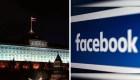 Rusia critica a Facebook por eliminar páginas
