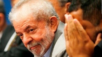 Lula da Silva está bajo custodia de la policía