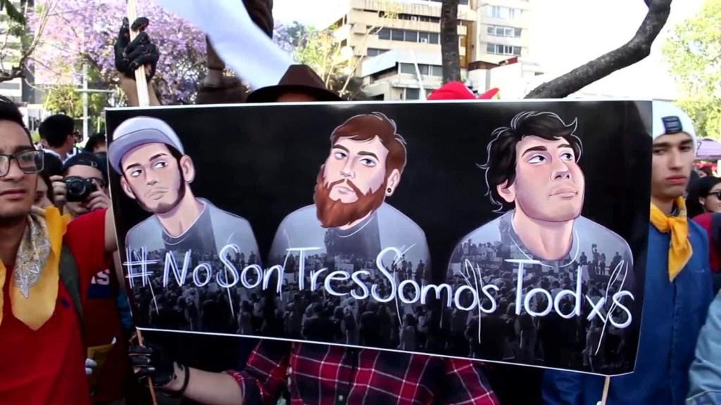 La protesta musical por los estudiantes de cine desaparecidos