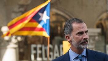 Convocan protestas en Barcelona contra el rey Felipe VI