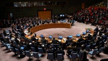 La ONU discutió sobre el supuesto ataque químicoen Siria