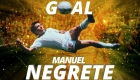 Manuel Negrete recuerda su gol en México 86