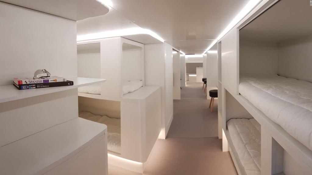 ¿Quieres domir en el avión? Airbus te enviará a la bodega de carga