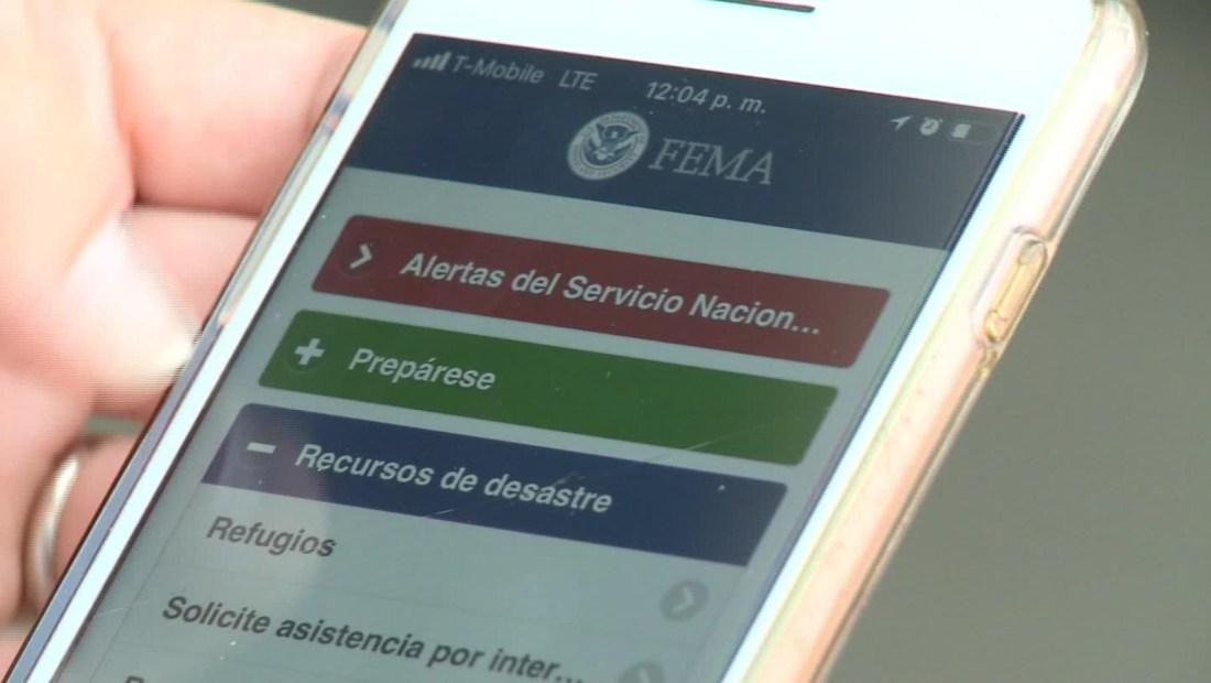 Una app de FEMA te alertará de desastres naturales en EE.UU.