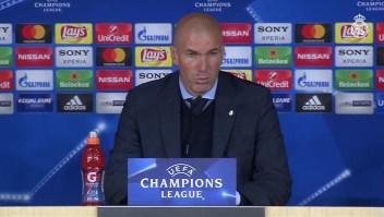 Zinedine Zidane: Si hay penal, hay penalti, no hay nada que hablar