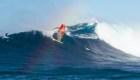 'Jaws', el lugar para los surfistas valientes