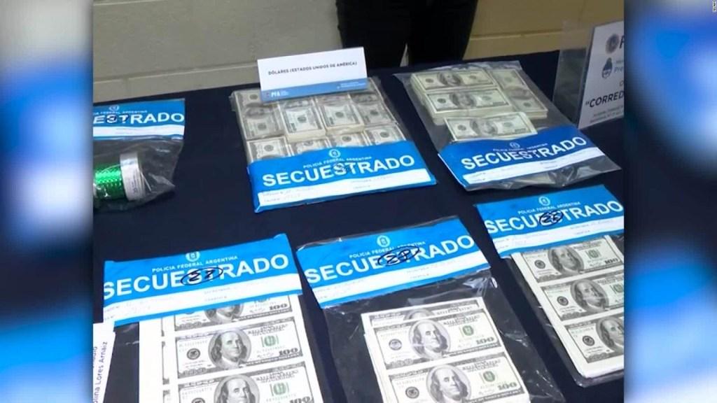 Autoridades incautan millones de billetes falsos en Argentina