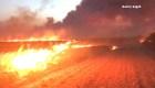 Incendio forestal deja un muerto en Oklahoma