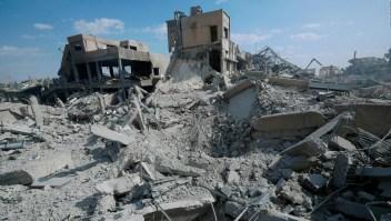 Así amaneció Siria después de los bombardeos
