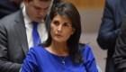 Haley: No toleraremos el uso de armas químicas
