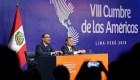 Vizcarra aplaude Compromiso de Lima en cierre de Cumbre de las Américas