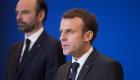 Macron dice que convenció a Trump de limitar ataque aéreo