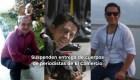 #MinutoCNN: Suspenden entrega de cuerpos de periodistas asesinados