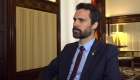 Roger Torrent critica al gobierno español
