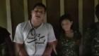 """Video muestra a pareja secuestrada por alias """"Guacho"""" en la frontera Ecuador-Colombia"""