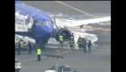 Avión aterriza de emergencia en Filadelfia