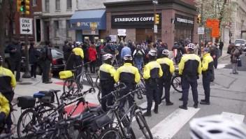 Este es el Starbucks que generó polémica