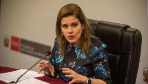 Vicepresidenta de Perú: Venezuela es una dictadura
