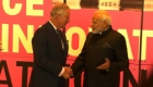 El príncipe Carlos y el primer ministro de India pasan un buen rato en Londres