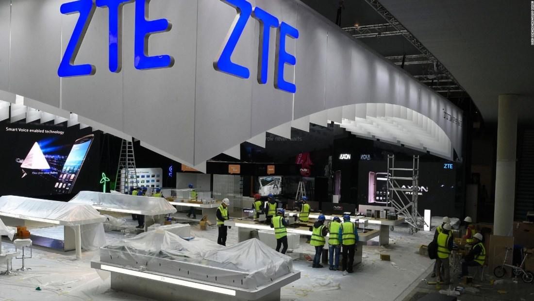 ZTE: otra empresa china en la mira de EE.UU.