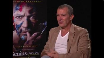 Antonio Banderas: Aún me levanto en las mañanas caminado como lo haría Picasso