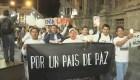 Periodistas y familiares marchan en Ecuador por la paz