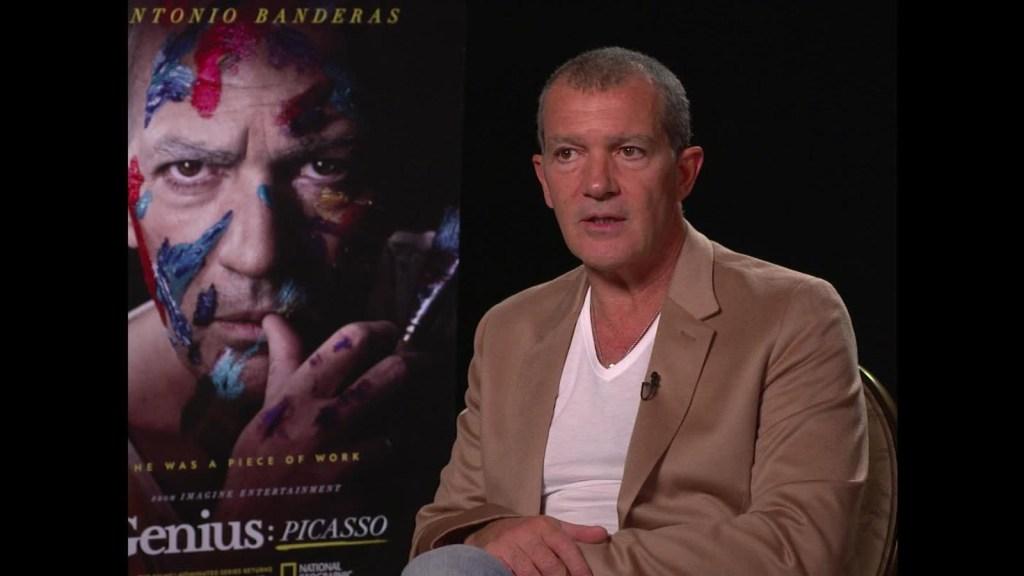 Picasso llega a la pantalla grande de mano de Antonio Banderas