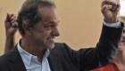 El diputado Daniel Scioli contesta si tiene miedo a terminar preso