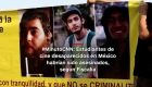 #MinutoCNN: Infieren asesinato de estudiantes de cine de Jalisco