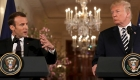 Trump y Macron sellan lazos pese a desacuerdos
