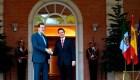 Peña Nieto se reúne con Mariano Rajoy y los reyes de España