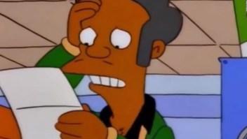 La voz de Apu lamenta lo que ha generado su personaje