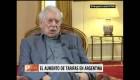 """Vargas Llosa: """"Mauricio Macri me parece magnífico"""""""