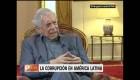 Vargas Llosa: Hay que aplaudir a los jueces que mandaron a la cárcel a Lula